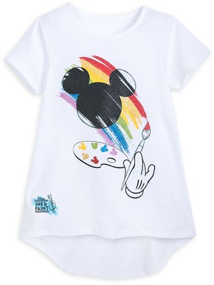 Disney Mickey Mouse Icon T-Shirt for Girls Ink & Paint