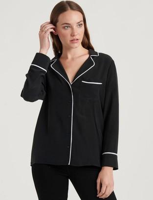 Maggie Silk Pajama Top