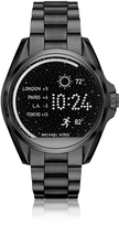 Michael Kors Black Stainless Steel Bradshaw Women's Smartwatch