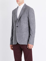 Paul Smith Mens Grey Patch Pocket Casual Jacket