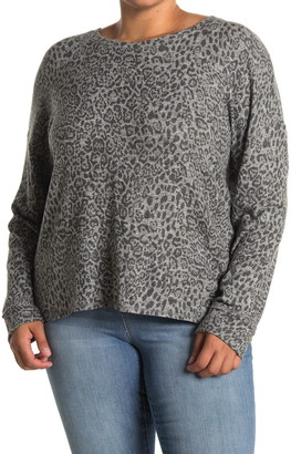 Gibson Printed Crew Neck Sweater