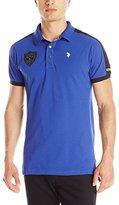U.S. Polo Assn. Men's Slim Fit Shoulder Stripe Polo Shirt