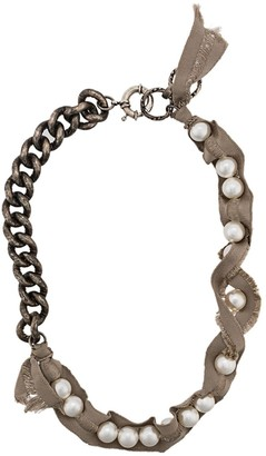 Lanvin chunky pearl necklace