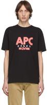 A.P.C. Black Taylor T-Shirt