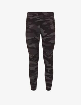 Sweaty Betty Power 7/8 printed high-rise stretch-jersey leggings