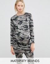 New Look Maternity Camoflage Jumper