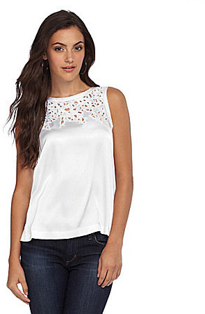 Catherine Malandrino Cheri Cutout-Detail Top