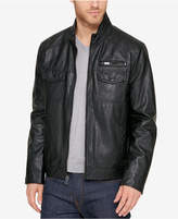 Kenneth Cole Men's Garrison Faux Leather Jacket