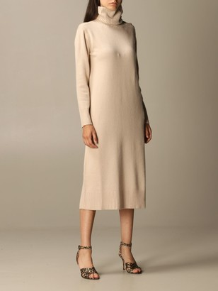 Max Mara Musa Pullover Dress In Wool And Cashmere