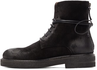 Marsèll Black Parrucca Ankle Boots
