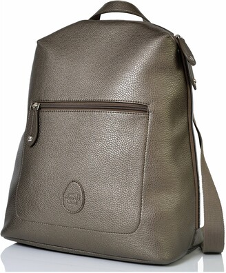 PacaPod Hartland Faux Leather Convertible Diaper Backpack
