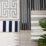 Williams-Sonoma Williams Sonoma Perennials® Awning Stripe Indoor/Outdoor Rug, Navy