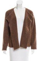 eskandar Wool-Blend Asymmetrical Cardigan