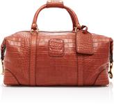 Ghurka Cavalier I Alligator Duffle Bag
