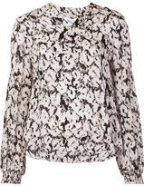 Derek Lam 10 Crosby leopard print blouse
