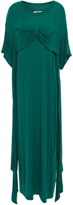 MM6 MAISON MARGIELA Draped Jersey Midi Dress