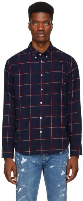 Rag & Bone Navy Fit 2 Tomlin Shirt