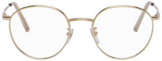 RetroSuperFuture Gold Numero 61 Glasses
