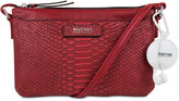 Kenneth Cole Reaction Mini Crossbody with Earbuds and Built-In RFID Protection