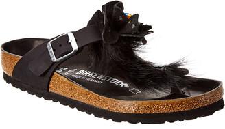 Birkenstock Women's Luxor Flower Swarovski Leather Sandal