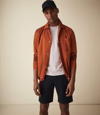 Reiss WICKET CASUAL CHINO SHORTS Navy