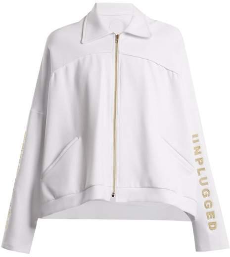 Charli Cohen - Unplugged Scuba Jersey Performance Jacket - Womens - White