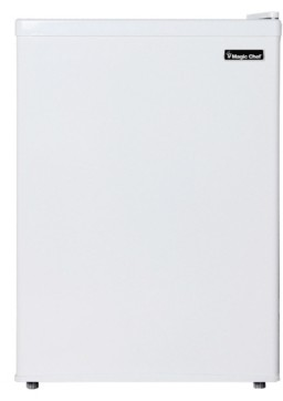 Magic Chef 2.4 Cubic Feet Mini Refrigerator with Half-Width Freezer Compartment