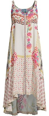 Johnny Was Shannon Floral Tank Dress