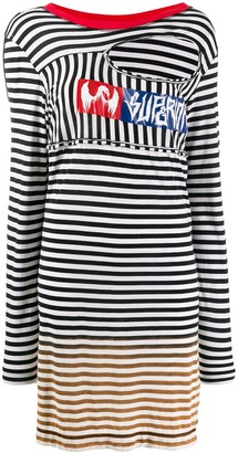 Diesel Oversized Striped Jumper