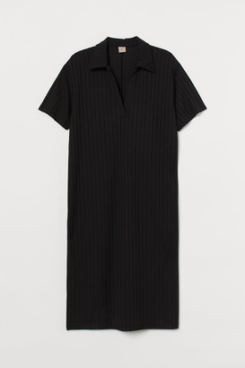 H&M H&M+ Ribbed Dress