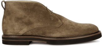 Tod's Brown suede desert boots