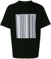 Alexander Wang welded barcode T-shirt - men - Cotton - S