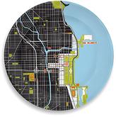 notNeutral Chicago Porcelain City Plate
