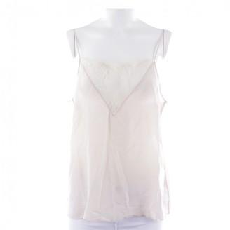 Anine Bing Beige Silk Top for Women
