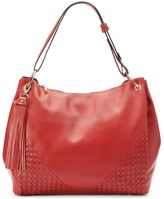 Mellow World Kimberly Woven Slouchy Convertible Hobo