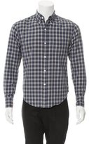 Band Of Outsiders Plaid Button-Up Shirt