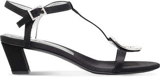 Roger Vivier Chips satin heeled sandals