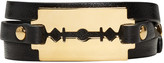 McQ by Alexander McQueen Black Triple Razor Bracelet