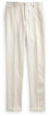 Ralph Lauren Slim Fit Linen Suit Trouser