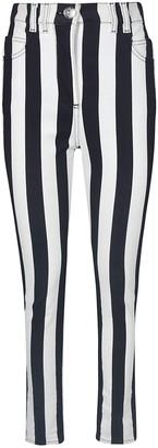 Balmain Stripe Print Jeans