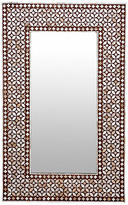 One Kings Lane Vintage Lustruous Mother-of-Pearl Inlaid Mirror