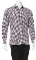 Ovadia & Sons Gingham Button-Up Shirt