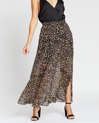 Banana Republic Petite Maxi Skirt with Side Slits