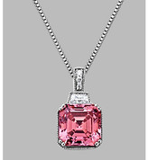Swarovski Fine Jewelry Balentino® Sterling Silver Pendant Made With Cubic Zirconia