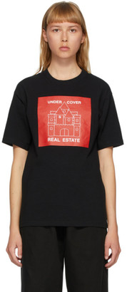 Undercover Black Real Estate T-Shirt