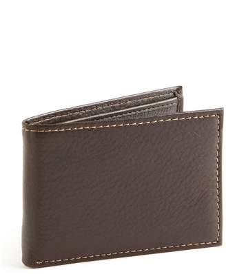 Black Brown 1826 Slim Passcase Wallet