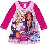 Barbie Big Girls' L/S Nightgown - , 7-8