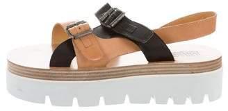 MM6 MAISON MARGIELA Leather Slingback Sandals