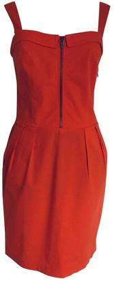 BOSS ORANGE Orange Cotton - elasthane Dress for Women