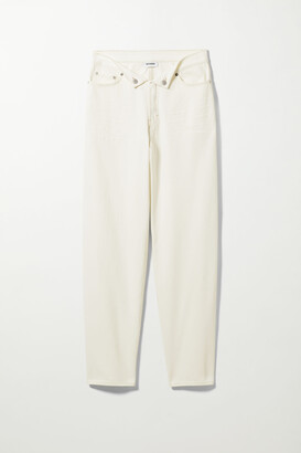 Weekday Rihna Jeans - White